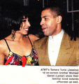 Tamara & Michael Genet - tamara-tunie photo