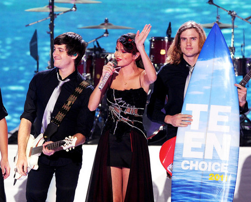 Selena Gomez Hintergrund called Teen Choice Awards 2011