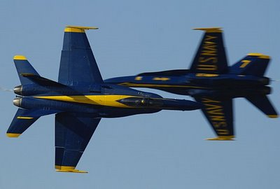 The Awesome Blue angeli