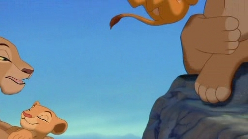 The Lion King - simba-and-nala Screencap