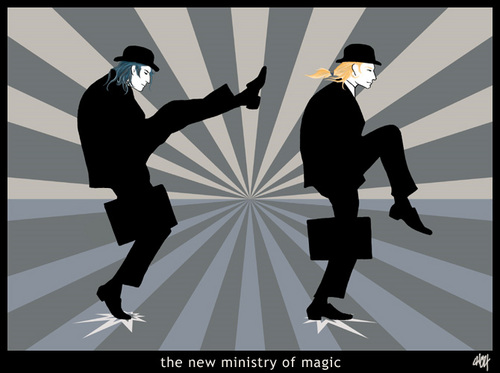 The New Ministry of Magic :)
