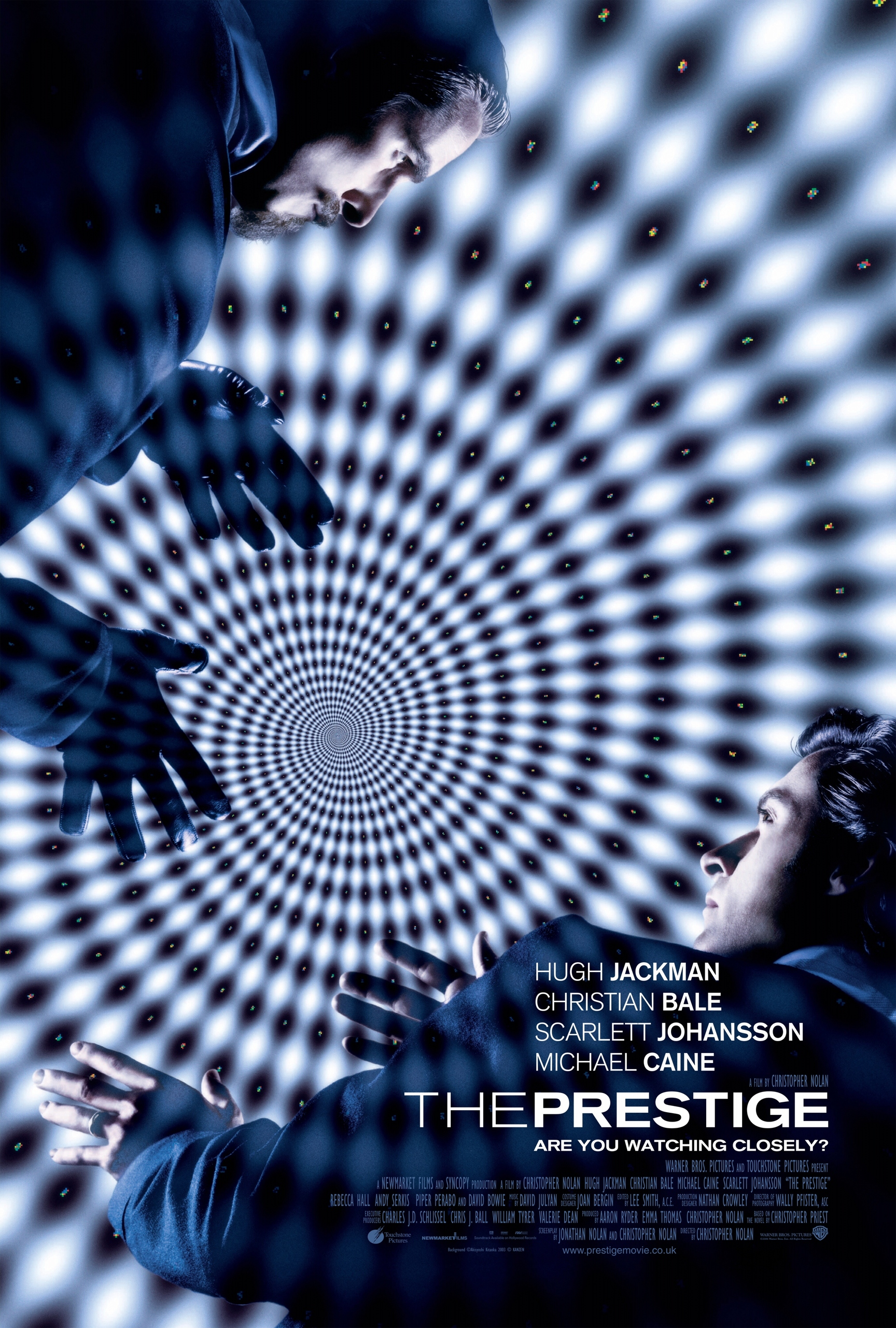 the prestige A mysterious story of two magicians whose intense rivalry leads them on a life- long battle for supremacy -- full of obsession, deceit and jealousy with dangerous and deadly consequences.