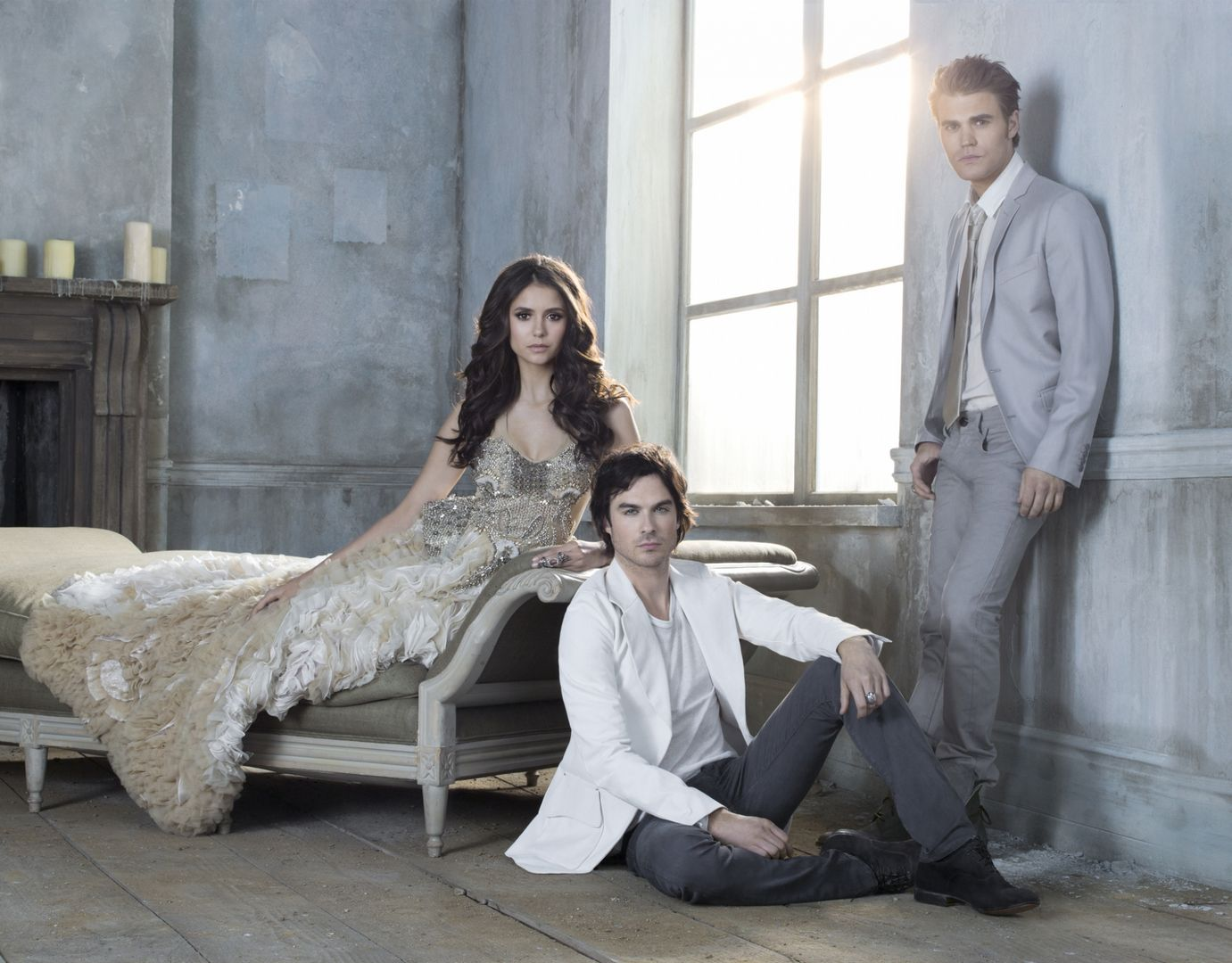 Damon salvatore the vire diaries season 3 cast promotional