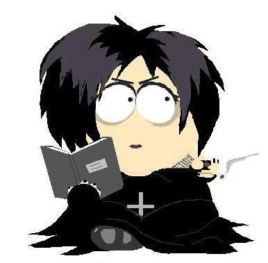 The goth girl from South Park
