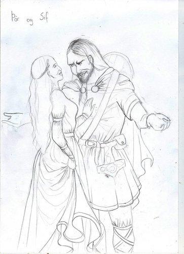 Thor and Sif