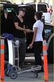 Tom Felton: Airport Handshake Hunk!