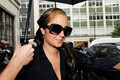 Tulisa Contostavlos Arrives at the BBC Radio One Studios - tulisa-contostavlos photo
