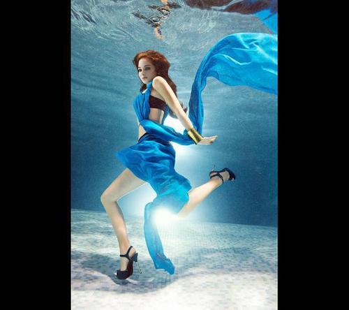 Tulisa 'Fabulous' Magazine Photoshoot