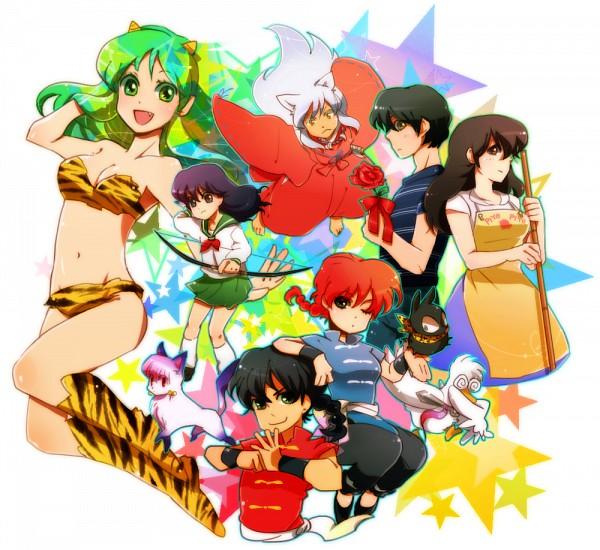 Uy ranma 1 2 inuyasha maison ikkoku rumiko takahashi for Anime maison ikkoku