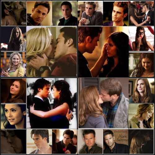 Vampire Diaries Couples