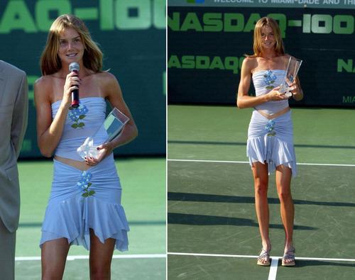 Daniela Hantuchová in Nasdaq 100 Win