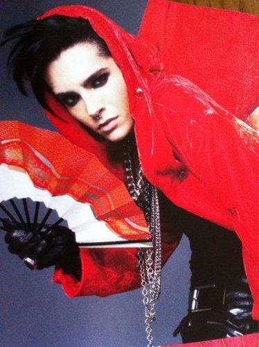 Bill Kaulitz achtergrond entitled WWD