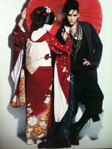 Tom & Bill Kaulitz 壁纸 with a 和服 titled WWD