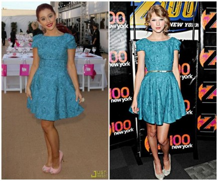 Which Wore It Better?(Arina G. VS Taylor S.)