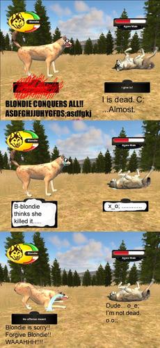 Wolfquest blondie <3