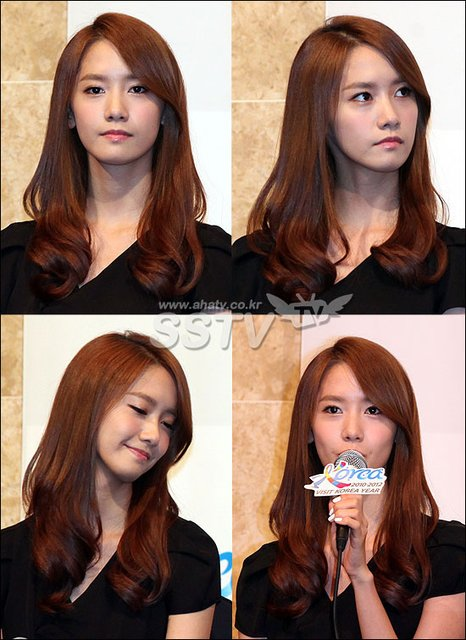 YoonA attended the 2011-2012 Visit Korea Year