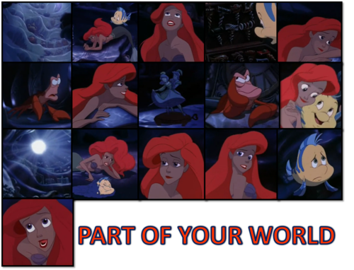 ariel : part of your world