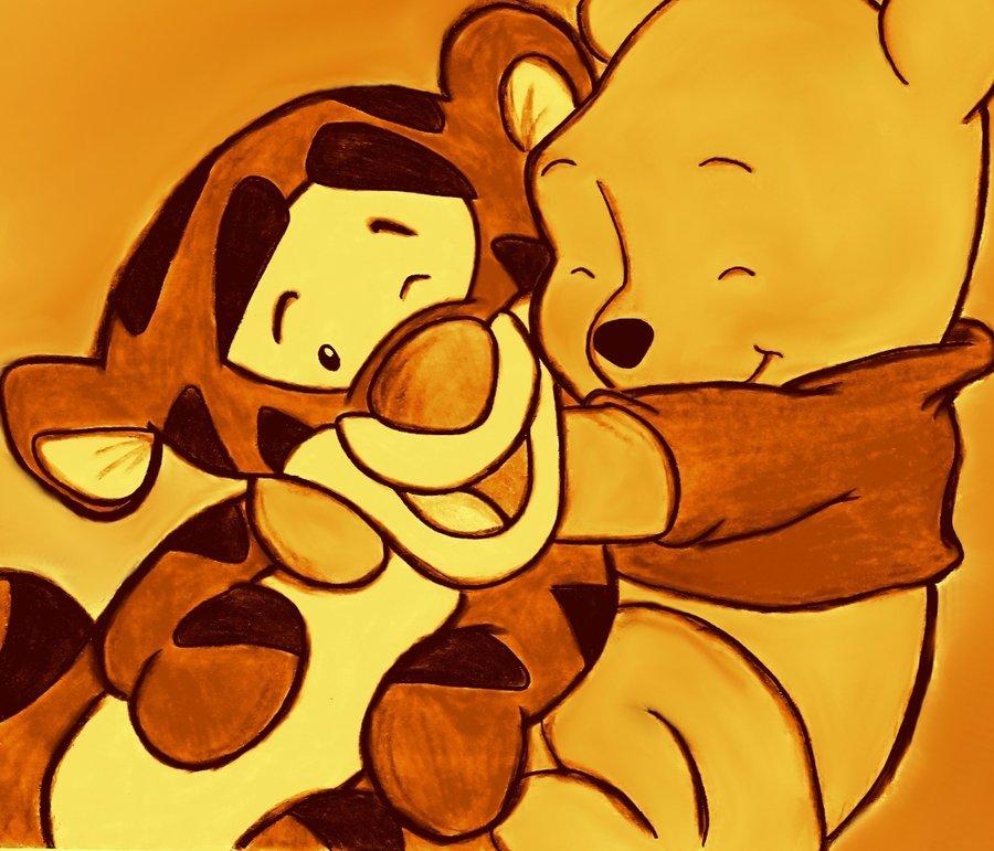 baby pooh drawing