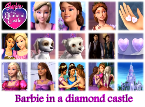 barbie in a diamond قلعہ