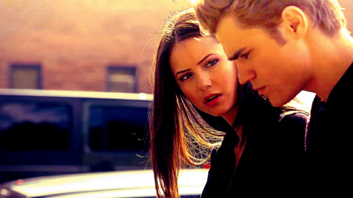 Stefan & Elena fondo de pantalla possibly with a portrait titled cutest couple out ♥