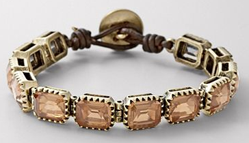 fossil square bracelet