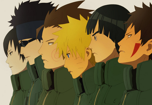 Naruto Shippuuden wallpaper entitled friends