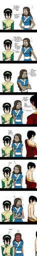 funny zutara comic