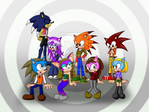 half the cast :D