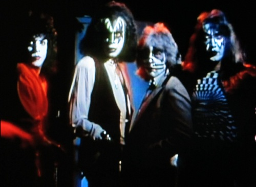 KISS wallpaper probably with a concert and a business suit entitled kiss 1980