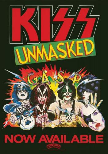 KISS wallpaper containing anime titled kiss unmasked
