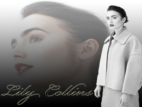 lily collins wallpaper 2011