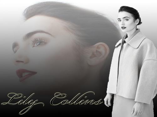 lily collins Hintergrund 2011
