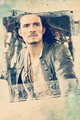 mobile wallpaper - orlando-bloom fan art