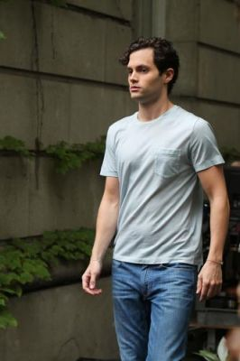 Dan Humphrey images penn badgley_On Thet - 13 Juillet wallpaper and background photos