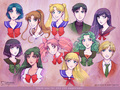 sailor moon characters