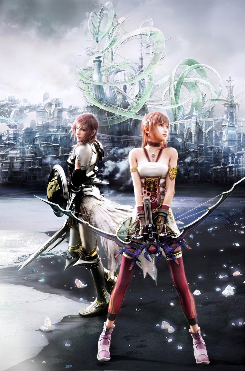 Final Fantasy Serah And Lightning serah  lightning