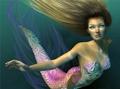 something like a mermaid...