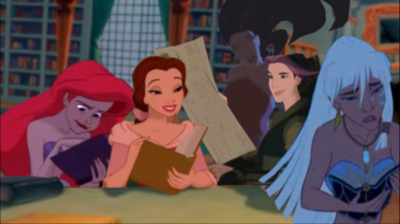 analysis of disney princesses This week brings news of a high school junior from virginia who created a changeorg petition calling for disney to create a plus-size princess, which now has over.
