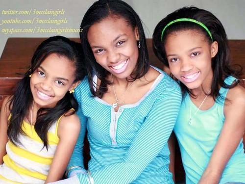 the 3 mcClain sister