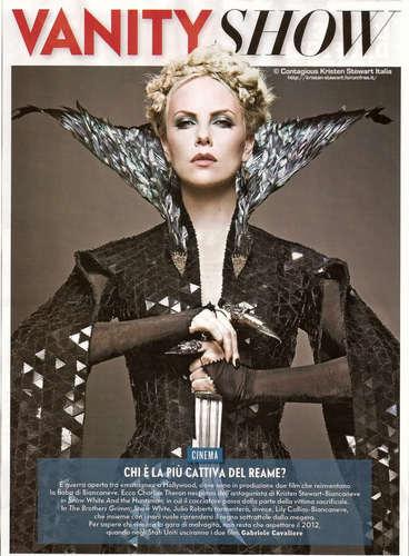 the queen- vanity fair magazine scan
