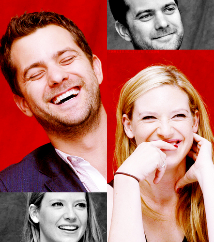 Anna Torv and Joshua Jackson achtergrond possibly with a portrait titled torvson <3