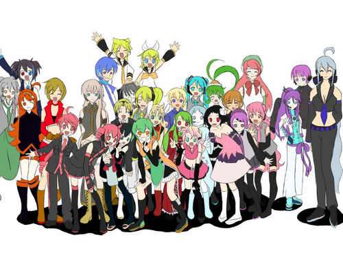 vocaloids and UTAU reunion