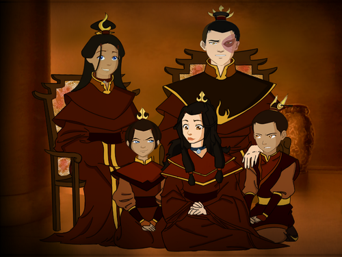 zuatara family  - zuko-and-katara Photo