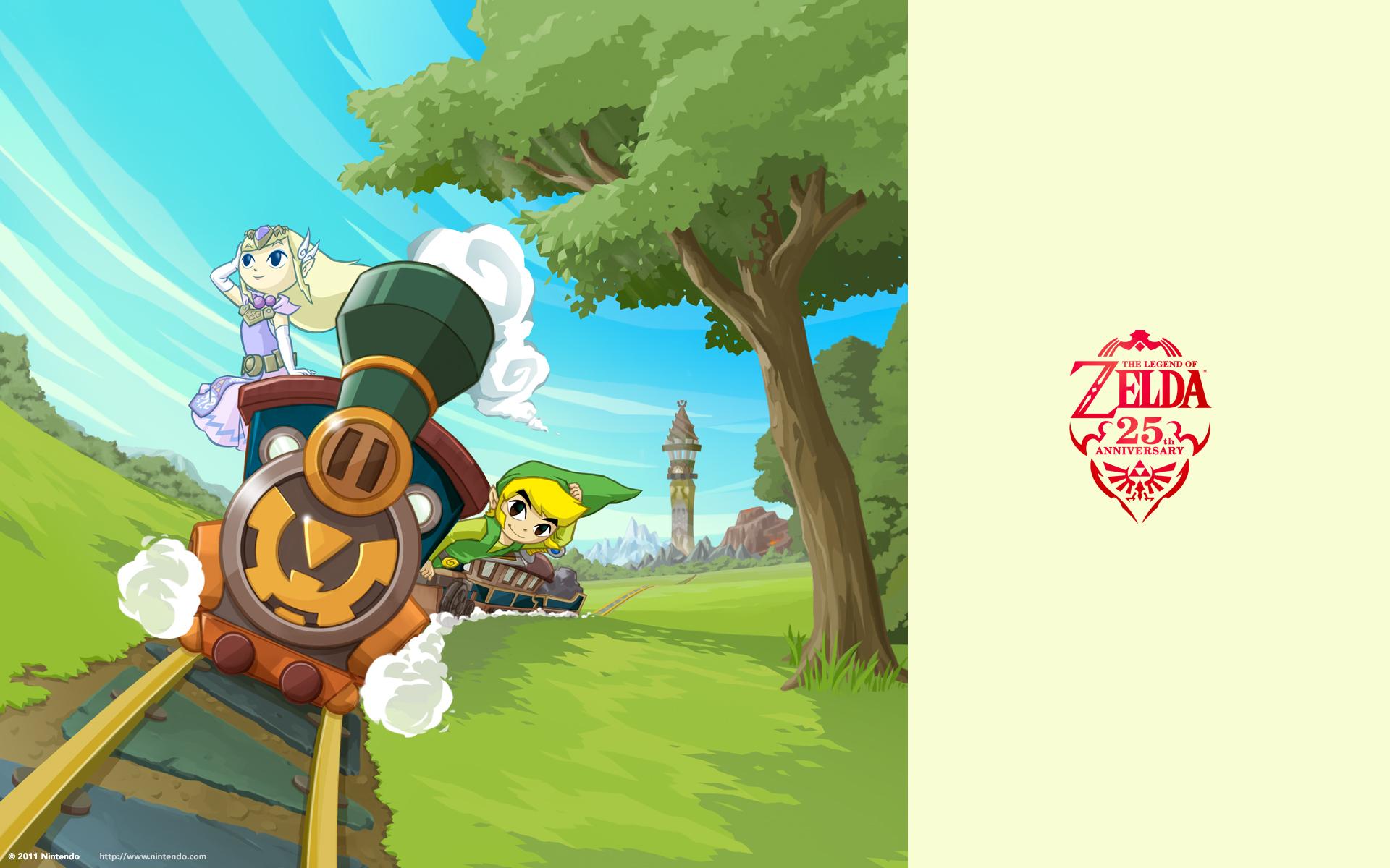 Zelda anniversary wallpapers