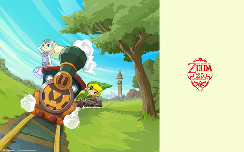 The Legend Of Zelda Characters Bilder 25th Anniversary Hintergründe