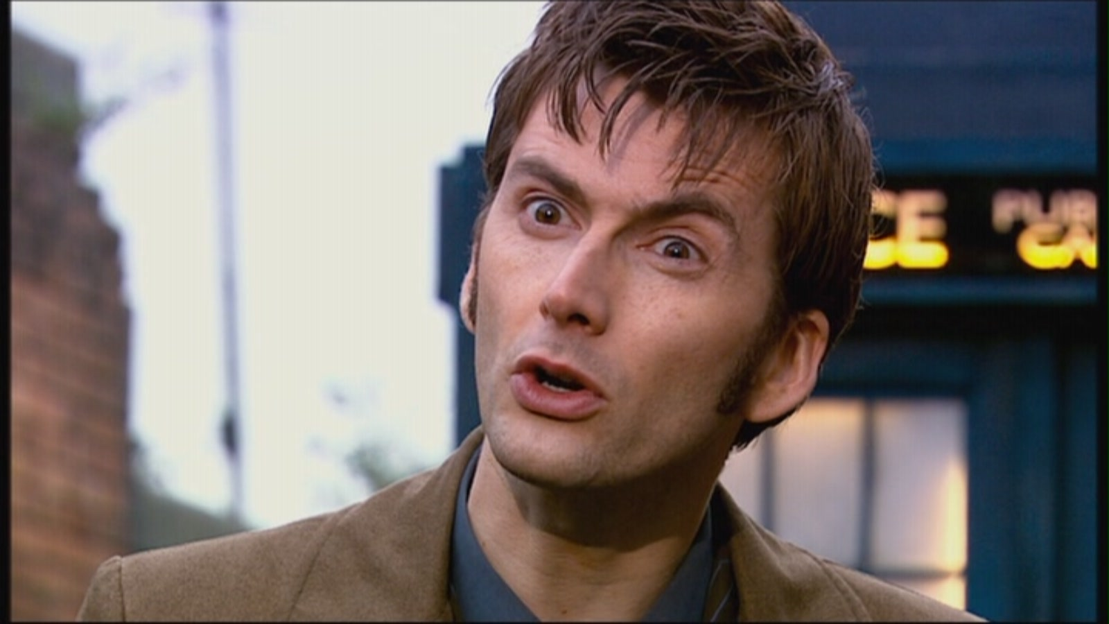 Tenth Doctor Smiling and Doctor - wait  what