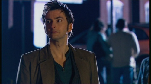 The Tenth Doctor wallpaper containing a business suit titled 2x11 Fear Her