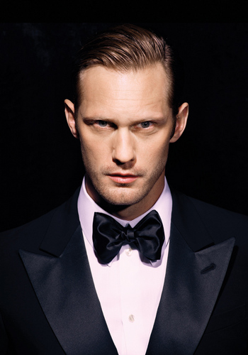 True Blood پیپر وال called Alexander Skarsgard's Sexy BlackBook Magazine تصویر Shoot!