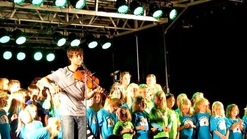Alexander at the Monsterline concert 27/08/2011
