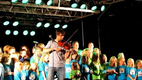 Alexander at the Monsterline concert! 27/08/2011